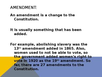 First Amendment Powerpoint