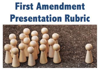 Bill of Rights:  1st Amendment Presentation