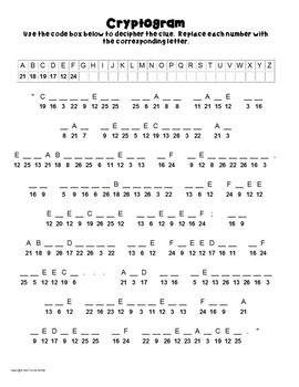 First/1st Amendment Puzzles- Word Search, Cipher, Cryptogram, Mix Up