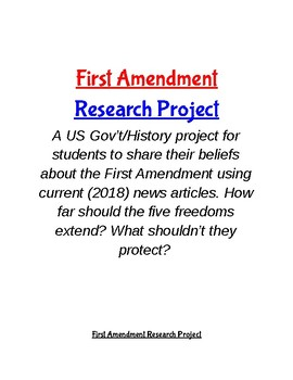 First Amendment Research Project