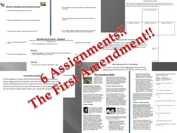 First Amendment Rights Bundle - Freedom of Speech