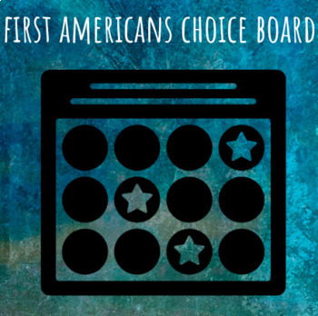 First Americans Choice Board