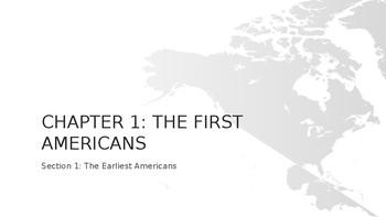 First Americans Mini-Unit