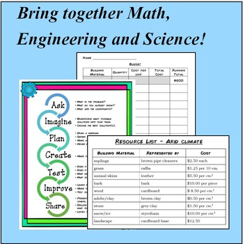 First Americans STEM Design Challenge - Teach the Engineering Design Process