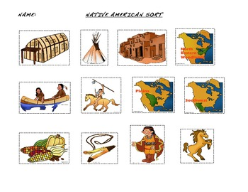 First Americans Sort