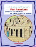 First Americans Unit in Pictures for Special Ed, ESL and E