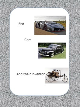 First Cars and their Inventors