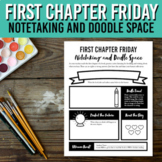 First Chapter Friday Doodle and Notetaking Printable / Ske