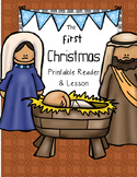 The First Christmas Nativity Printable Reader and Bible Lesson