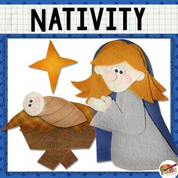 Christmas Nativity Printable Story Set