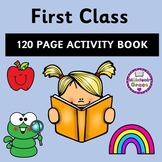 First Class 120 Page Activity Book - Distance Learning
