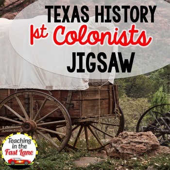 First Colonists of Texas Jigsaw Activity