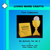 First Communion 3D Chalice and Card for Grade 2