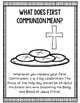First Communion Activities