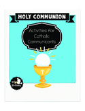 First Communion Activity Packet