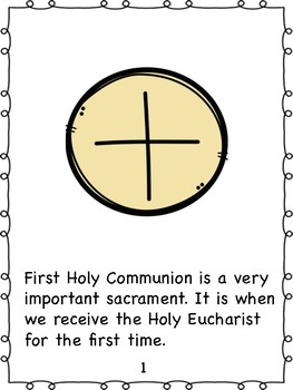 First Communion Book
