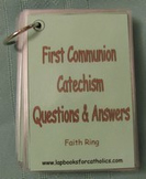First Communion Catechism Faith Ring Flashcards