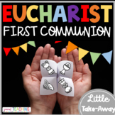 First Communion Eucharist Fortune Teller Take Away Activities