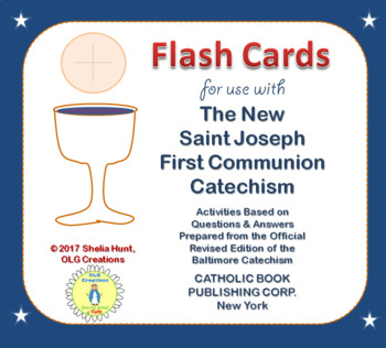 First Communion Worksheets / Flash Cards