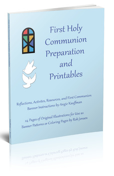 First Communion Prep and Banner Patterns Packet