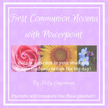 First Communion/Eucharist Novena