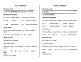 First Conditional Vs Second Conditional