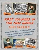 First Colonies in the New World unit bundle, including text