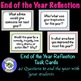 First Day Activity & End of the Year Refection BUNDLE