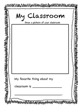 First Day Activity Packet