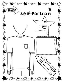 First Day of Art Activity Freebie