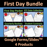First Day | Back to School | Google Bundle