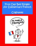 First Day Bell Ringer Elementary French