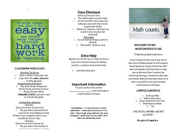 First Day Brochure