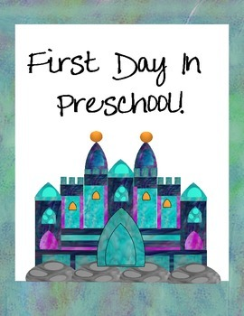 First Day Castle Signs Preschool-2nd Grade
