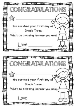First Day Certificates