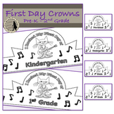 First Day Crowns Cat Theme