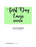 First Day Emoji Graphing
