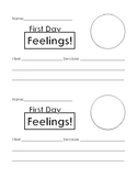 First Day Feelings!