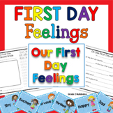 Back to School - First Day Feelings - Close Reading, Addition, & Word Problems