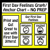First Day Jitters Graph/Anchor Chart - NO PREP