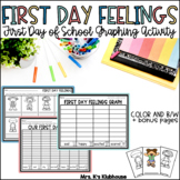 First Day Feelings Graphing Activity