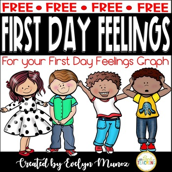 First Day Feelings Portrait for Picture Graph