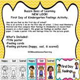First Day Feelings Posters and Activity