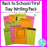 First Day/First Week writing printables