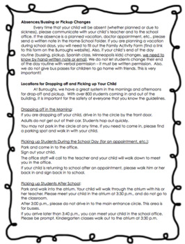 Parent Handbook! {Editable for ANY elementary classroom!}