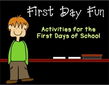 First Day Fun Packet