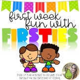 First Day Fun With Firsties | Back-to-School Activity Book