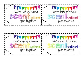 First Day Gift Tags