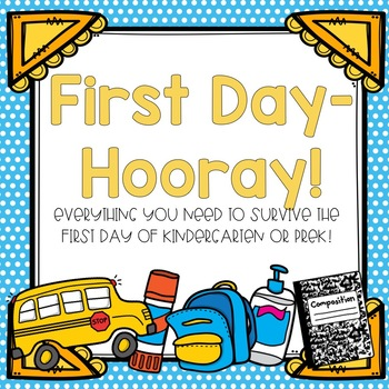 First Day- Hooray!