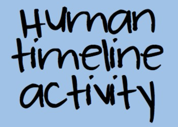First Day Human Timeline Activity